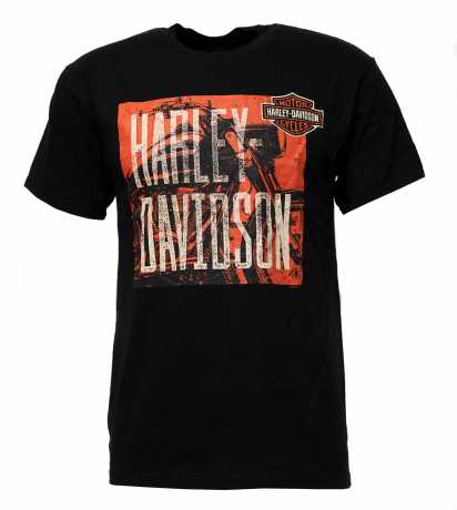 H-D Motorclothes Harley-Davidson T-Shirt Midnight Mood schwarz  - 5L33-HHU4
