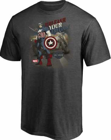 H-D Motorclothes H-D Marvel T-Shirt Unleash Your Freedom  - 5L33-HMA5