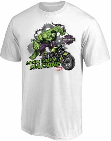 H-D Motorclothes H-D Marvel T-Shirt Hulk Mean Green Machine  - 5L33-HMA7