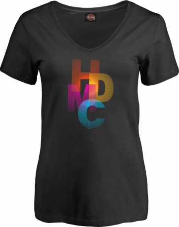 H-D Motorclothes Harley-Davidson Damen T-Shirt Crimson Harmony  - 5M94-HJ3H