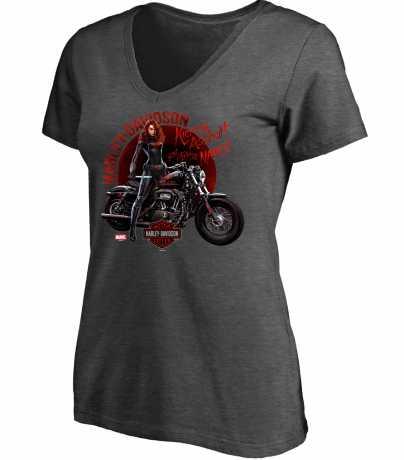 H-D Motorclothes H-D Marvel Damen T-Shirt Kicking Asphalt And Taking Names  - 5QF4-HMB5