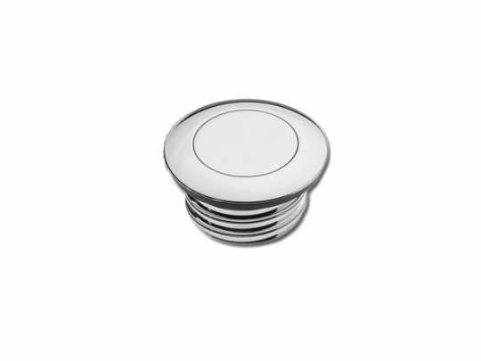 Custom Chrome Pop-Up Gas Cap vented, chrome  - 60-0242