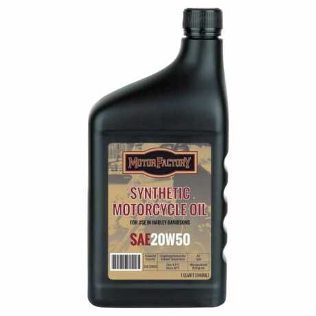 Motor Factory Motor Factory Synthetic Motor Oil SAE 20W50 0,946 Liter  - 60-2396