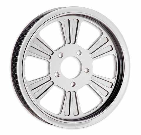 "RevTech RevTech Dominator 6  Pulley 66 teeth 1"" chrome  - 60-3666"