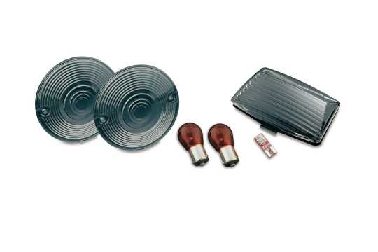Küryakyn Küryakyn Rear Turn Signal and Fender Tip Lens Kit  - 60-5100