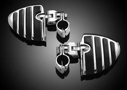 "Küryakyn Küryakyn ISO-Wings with Mounts & 1-1/4"" Magnum Quick Clamps  - 60-5149"