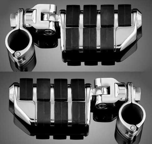 """Küryakyn Küryakyn ISO-Doppelrasten mit Klammer & 1 1/4"""" Magnum Schnellverschluss  - 60-5150"""
