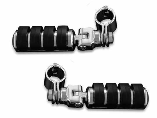 "Küryakyn Küryakyn Large ISO-Pegs with Mounts & 1-1/4"" Magnum Quick Clamps  - 60-5152"