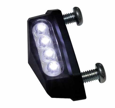 Shin Yo Shin Yo LED license plate light Quadro black  - 60-7055