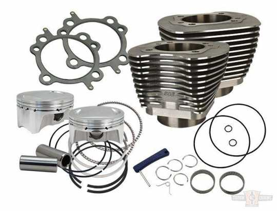 "S&S Cycle S&S 98"" big bore kit, silver  - 60-7404"