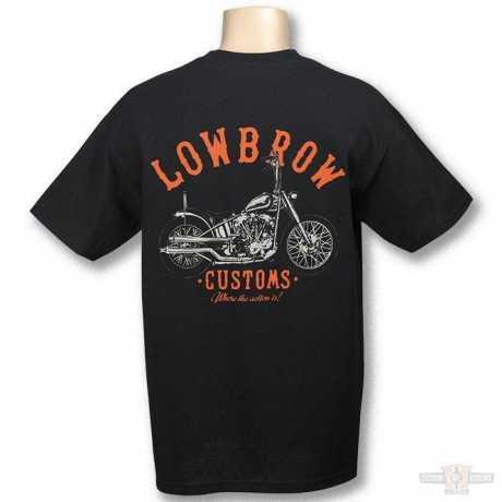 Lowbrow Customs Lowbrow Harley Knucklehead T-Shirt  - 60-7573V