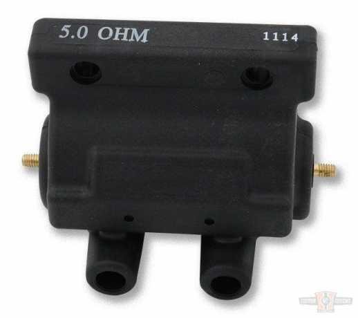 Motor Factory Motor Factory  Ignition Coil, Molded, Black, 5 ohm  - 60-7809