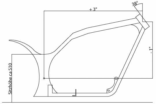 Thunderbike Rahmen-Kit Freestyle  - 60-82-040