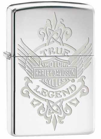 Zippo Zippo Harley-Davidson Feuerzeug True Legend  - 60.003.122