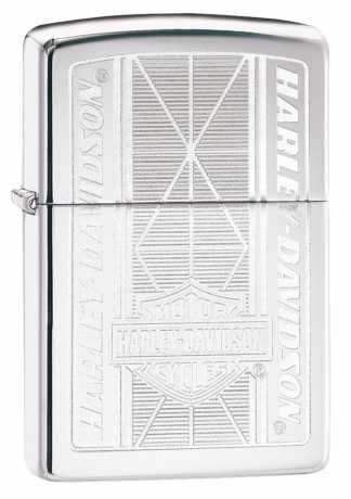 Zippo Zippo Harley-Davidson Lighter Silver Bar & Shield  - 60.003.982