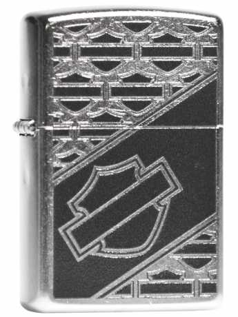 Zippo Zippo Harley-Davidson Feuerzeug Multi Bar & Shield  - 60.004.544
