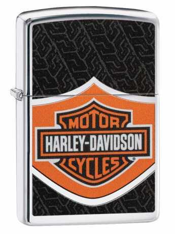 Zippo Zippo Harley-Davidson Feuerzeug Tire Bar & Shield  - 60.004.741