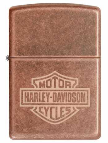 Zippo Zippo Harley-Davidson Lighter Vintage brass  - 60.004.742