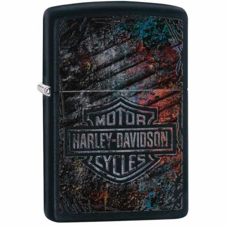 Zippo Zippo Harley-Davidson Feuerzeug Bar & Shield Multi Color  - 60.005.155