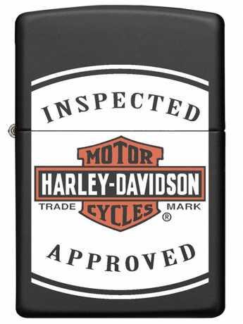 Zippo Zippo Harley-Davidson Feuerzeug Inspected Approved  - 60.005.591