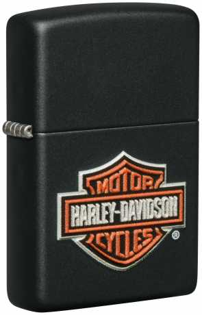 Zippo Zippo Harley-Davidson Feuerzeug Bar & Shield 3D schwarz matt  - 60.005.829