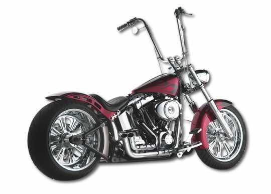Santee Santee / Paul Yaffe Skirt Blower Exhaust chrome  - 60-0069