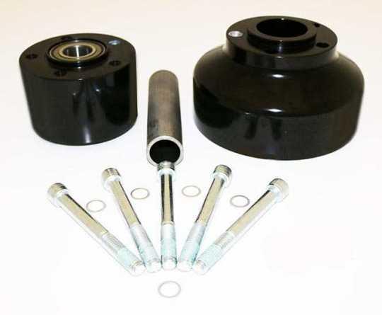 RevTech RevTech Hinterradnabe 25mm schwarz eloxiert  - 60-2970