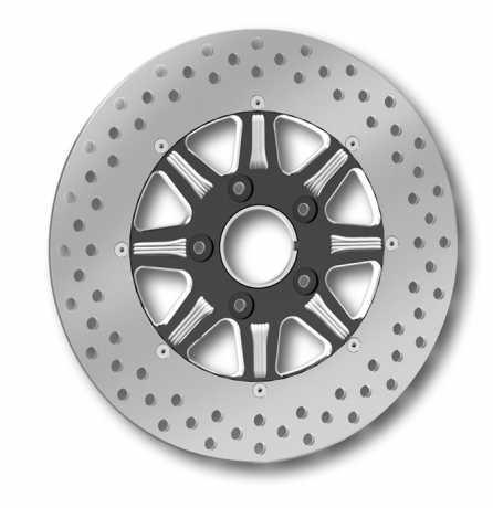 "RevTech RevTech Velocity Brake Disc 11.5"" 2PC front black  - 60-3351"