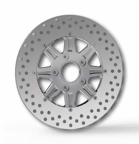 """RevTech RevTech Velocity Bremsscheibe 11,5"""" hinten, poliert  - 60-3864"""