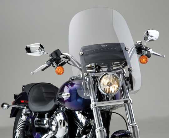 """National Cycle National Cycle Spartan Windshield 19"""" klar  - 60-3588"""