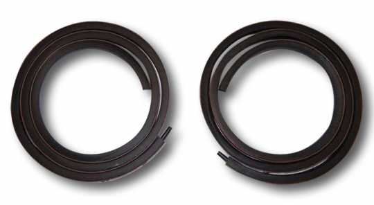 Custom Chrome Saddlebag Lid Gasket Set  - 60-5703