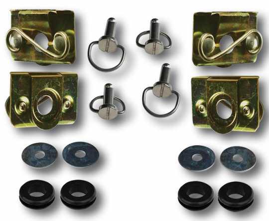 Custom Chrome Saddlebag Bail Mounting Kit  - 60-5704