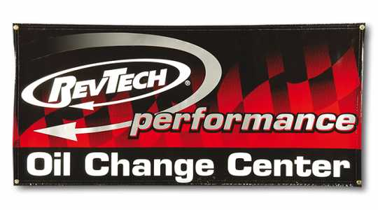 "RevTech RevTech Performance Oil Change Banner 62"" x 28""  - 60-6099"