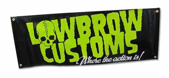 Lowbrow Customs Lowbrow Customs Logo Banner 120 x 43 cm  - 60-7548