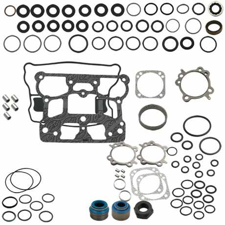 S&S Cycle S&S Gasket, Kit, Eng, Stk BP, 4-1/8 inch  - 60-7993