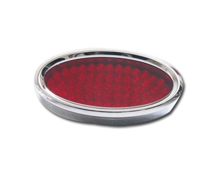 Radiantz Radiantz Oval with a Red Lens  - 60-9725