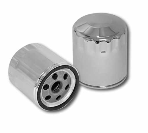S&S Cycle S&S Oil Filter chrome  - 61-4584