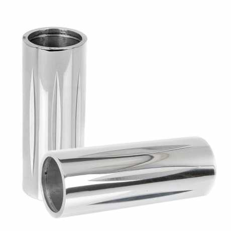 Thunderbike Upper Fork Cover Tube 49 polished - 61-72-040