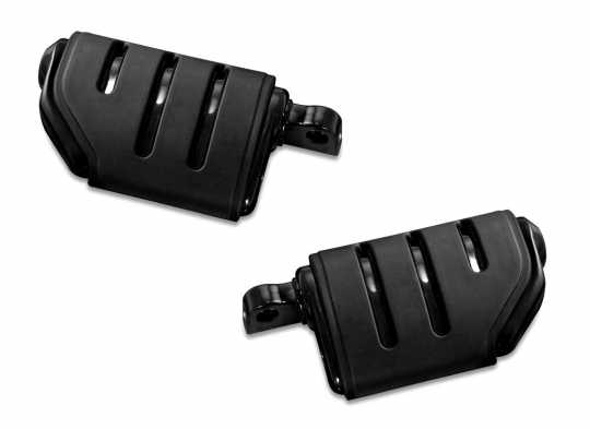 Küryakyn Kuryakyn Trident Dually ISO-Pegs with Male Mount Adapters, gloss black  - 61-8091