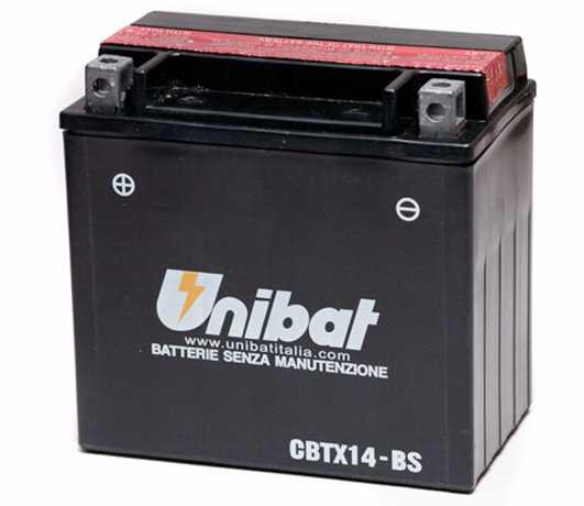 Unibat Unibat CBTX14-BS Batterie 12Ah 200CCA  - 61-8425