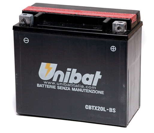 Unibat Unibat CBTX20L-BS Battery  - 61-8428