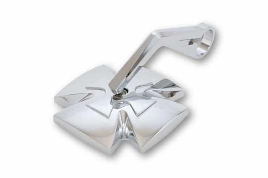 Highsider Highsider Iron Cross Lenkerendenspiegel chrom  - 61-9258
