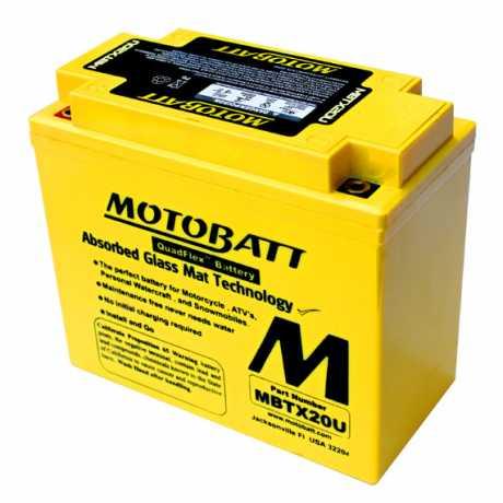Motobatt Motobatt Batterie MBTX20U 21Ah 310CCA  - 61-9277