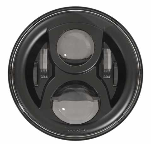 "JW Speaker JW Speaker 8700 Evo 2 Headlight, 7"" black  - 61-9521"