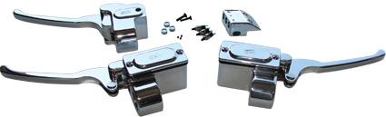 "GMA GMA Brake Master Cylinder 5/8"" chrome  - 61-0340"