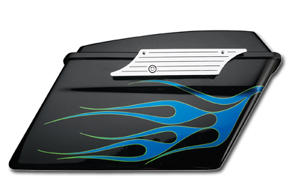 Custom Chrome Chrome Billet Saddlebag Latches  - 61-0580