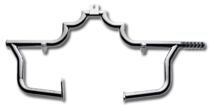 JBN Custom Phantom Highway Bars  with Pop-Out Pegs  - 61-0600
