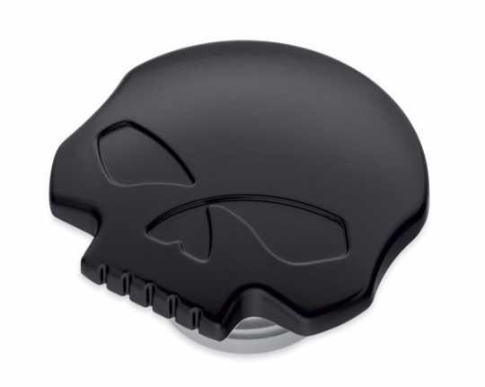 Harley-Davidson Fuel Cap Willie G Skull black  - 61100103A
