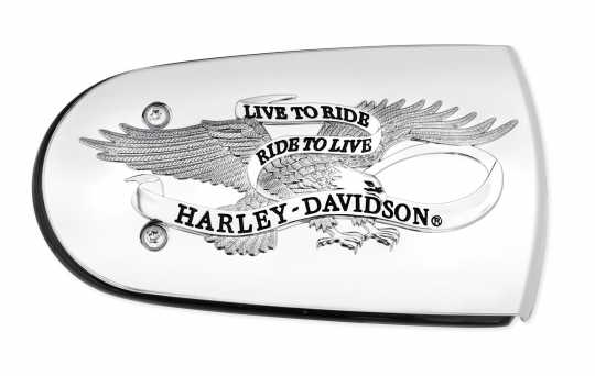 Harley-Davidson Live To Ride Air Cleaner Trim  - 61300219