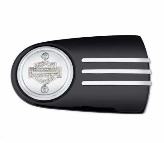 Harley-Davidson Diamond Ice Air Cleaner Trim  - 61300223